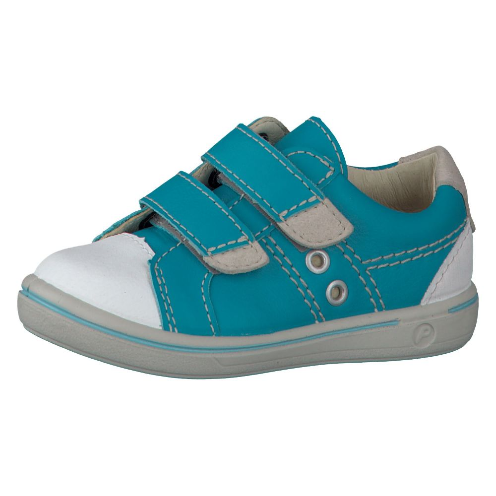 Ricosta NIPY Leather Velcro Shoes (Water Blue)
